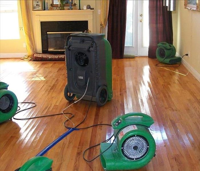 Basking Ridge Hardwood Floors and Water Damage Before