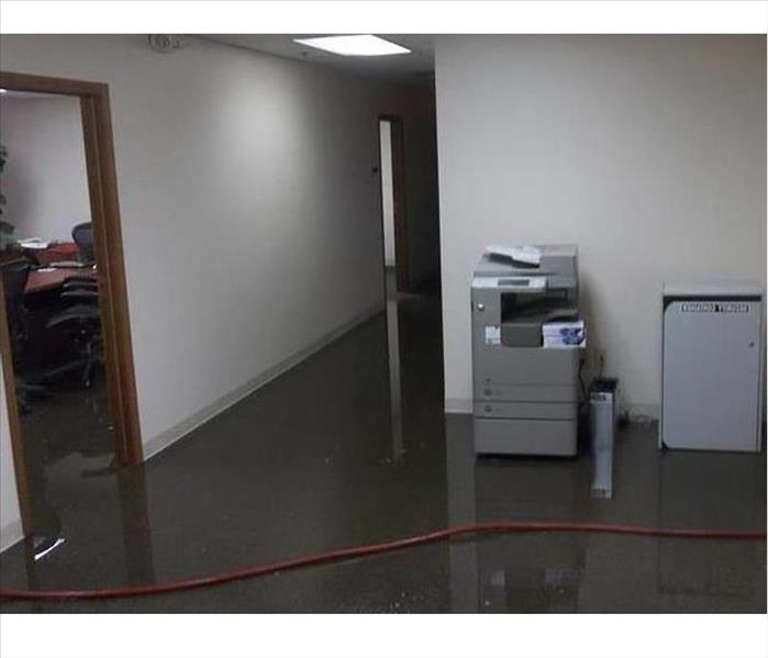 Flooded Bridgewater Office Building Before