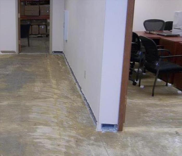 Flooded Bridgewater Office Building After