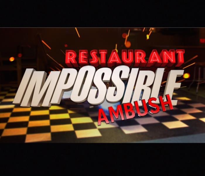 General Look for us on Restaurant: Impossible!